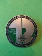 SPORT INVERNALI SPILLE 12° Meeting Interbancario Monena 1972 - Italia