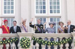 DP00623 - NETHERLANDS - DUTCH ROYALTY - QUEEN BEATRIX - ROYAL FAMILY CP ORIGINAL ROYAL PRESS 477 - Familles Royales