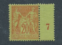 CL-2: FRANCE: Lot Avec N°96** (1/2 Millésime 7) - 1876-1898 Sage (Type II)