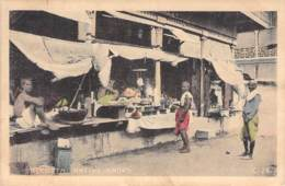 Calkutta Native Shops 1915 AKS - India