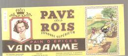 Buvard VANDAMME PAIN D'EPICES PAVE Des ROIS Buvard N°3 - Pain D'épices
