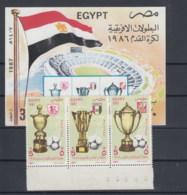 Ägypten (KA) Michel Cat.No. Mnh/** 1577/1579 + Sheet 43 - Égypte