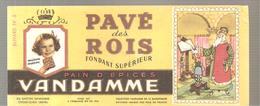 Buvard VANDAMME PAIN D'EPICES PAVE Des ROIS Buvard N°5 - Pain D'épices