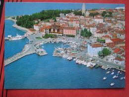 Izola / Isola D'Istria - Flugaufnahme Hafen - Slovenia