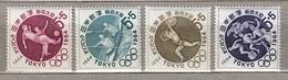 JAPAN 1964 Sport Olympic Games MNH (**) Mi 863-866 #23701 - 1926-89 Emperor Hirohito (Showa Era)
