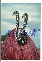 Masque Africain. African Mask. Dédougou. IRIS Mexichrome N° 3715 - Costumi