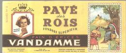 Buvard VANDAMME PAIN D'EPICES PAVE Des ROIS Buvard N°6 Saint Louis - Gingerbread
