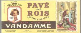 Buvard VANDAMME PAIN D'EPICES PAVE Des ROIS Buvard N°8 - Pain D'épices