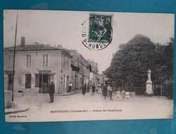 CPA - MONTENDRE - Avenue Des Brouillauds - Montendre