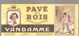 Buvard VANDAMME PAIN D'EPICES PAVE Des ROIS Buvard N°10 - Pain D'épices