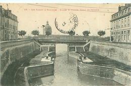 Cpa -   Les Canaux à Toulouse ,écluses St Pierre ,Canal De Brienne         AD651 - Toulouse