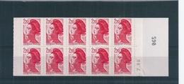 Carnet Liberté De Gandon Avec Erreur De Date :7/86 Au Lieu De 5/86 , Cote 120 Euro - Booklets