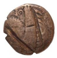 Keleti Kelták / Duna Régió Kr. E. ~II-I. Század Ag Tetradrachma, II. Philipposz Pénzeinek Imitációja (9,73g) T:2-,3 Vágá - Coins & Banknotes
