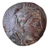 Keleti Kelták / Thrákia? Kr. E. ~III. Század Ag Tetradrachma, III. Alexandrosz Pénzeinek Imitációja (12,08g) T:2,2- East - Coins & Banknotes
