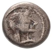 Kolkhisz Kr. E. V-IV. Század Ag Hemidrachma (2,06g) T:2,2- /  Colchis 5th-4th Century BC Ag Hemidrachm 'Archaic Female H - Coins & Banknotes