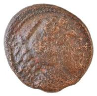 Makedónia / Amphipolis Kr. E. 336-323. AE érme (3,3g) T:3 Macedon / Amphipolis 336-323. BC AE Coin 'ALEXANDROU' (3,3g) C - Coins & Banknotes