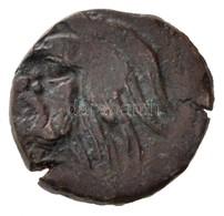 Tauriké / Pantikapaion Kr. E. IV. Század AE17 (4,51g) T:2- Rep. /  Taurica / Panticapaeum 4th Century BC AE17 'Head Of P - Coins & Banknotes