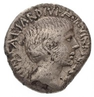 Római Birodalom / Róma / Octavianus Kr. E. 36. Denár Ag (3,56g) T:2- Ki.,ü. Roman Empire / Rome / Octavian 36. BC Denari - Coins & Banknotes