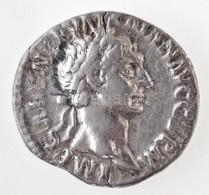 Római Birodalom / Róma / Traianus 98-99. Denár Ag (2,7g) T:2,2- Roman Empire / Rome / Trajan 98-99. Denarius Ag 'IMP CAE - Coins & Banknotes