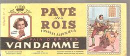 Buvard VANDAMME PAIN D'EPICES PAVE Des ROIS Buvard N°11 - Gingerbread