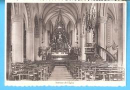 Haut-Fays-(Daverdisse)-Intérieur De L'Eglise Saint-Remacle Lors Du Congrès Eucharistique Du 1er Août 1937-photo Couture, - Daverdisse