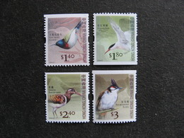 HONG-KONG : TB Série De Timbres De Carnets; N° 1305a + 1306a + 1309a Et 1311a, Neufs XX. - 1997-... Chinese Admnistrative Region