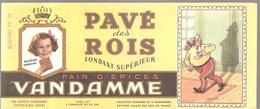 Buvard VANDAMME PAIN D'EPICES PAVE Des ROIS Buvard N°16 - Pain D'épices