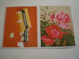 Calendrier De Poche 1966 FLEUR, ANTIGRIPPINE ( Petit, Mini, Publicitaire) - Calendriers