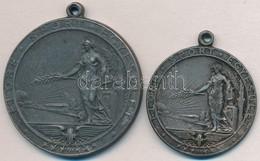 ~1930-1940. 'Előre Sport Egyesület' (2x) Fém Sportdíjérem (36 és 45mm) T:2 - Coins & Banknotes