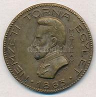 Sóváry János (1895-1966) / Ludvig József DN 'Nemzeti Torna Egylet - 1863 - Matolay / Épség - Erő - Egyetértés' Kétoldala - Coins & Banknotes