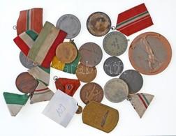 Kis Zacskónyi Kitüntetés, Jelvény, Emlékérem Tétel Nagyrészt Sportdíjérmek T:vegyes - Coins & Banknotes