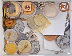 Kisebb Doboznyi Vegyes Jelvény, Kitűző és Emlékérem Tétel T: Vegyes - Coins & Banknotes
