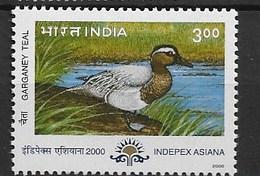 "INDIA 2000 Birds ""ducks"" - Patos"