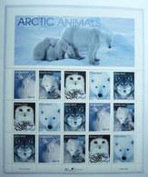 BLOC FEUILLET USA  TIMBRES ARTIC ANIMALS - ANNIMAUX ARTIQUES 1999 - United States