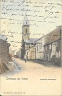 """ROBELMONT """"Meix-devant-Virton"""" - L' Eglise - NELS - Série:32 - N°52 - Colorisée - Circulé:1906 - 2 Scans - Meix-devant-Virton"""