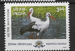 "INDIA 2000 Birds ""storks"" - Picotenazas & Aves Zancudas"