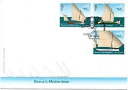 Portugal Euromed 2015 Ship FDC - FDC