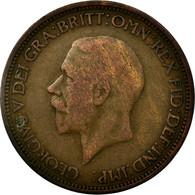Monnaie, Grande-Bretagne, George V, 1/2 Penny, 1931, TB, Bronze, KM:837 - 1902-1971 : Monnaies Post-Victoriennes