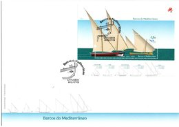 Portugal Euromed 2015 Ship M/S FDC - FDC