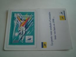 Calendrier De Poche 1998 LA POSTE, Timbre Marseille ( Petit, Mini, Publicitaire) - Petit Format : 1991-00