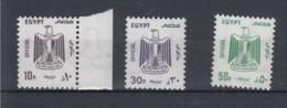 Ägypten (KA) Michel Cat.No. Mnh/** Sercice 115/117 - Officials