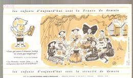 Buvard PAIN D'EPICES Les Enfants D'aujourd'hui Sont La France De Demain - Gingerbread