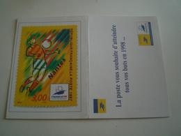 Calendrier De Poche 1998 LA POSTE, Timbre Nantes ( Petit, Mini, Publicitaire) - Petit Format : 1991-00