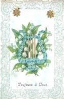 Cpa Fantaisie : Toujours à Vous ( Bords Gaufrés, Dentelés ) - Fancy Cards