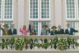 DP00624 - NETHERLANDS - DUTCH ROYALTY - QUEEN BEATRIX - ROYAL FAMILY CP ORIGINAL ROYAL PRESS 122 - Familles Royales