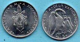 VATICAN  5 Lire 1976  KM#118 - Vaticaanstad