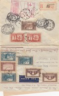 LETTRE. COVER. FIRST FLIGHT FRENCH ALGERIA 1939 - Timbres