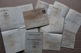 Cave Coopérative Vinicole Du Pradet (Var), Documents 1920-1922 - Alimentaire
