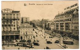Brussel, Bruxelles, Boulevard Du Jardin Botanique, Tram; Tramway (pk52912) - Places, Squares