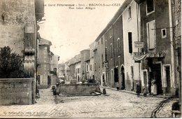30. Bagnols Sur Ceze. Rue Leon Allegre - Bagnols-sur-Cèze